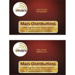 Distributor Business Card Printing Service