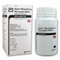 Aluvia (Lopinavir 200 Mg + Ritonavir 50 Mg)
