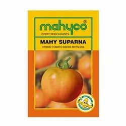 Red Hybrid Tomato - Mahyco / Mahy Suparna (256), For Agriculture, Packaging Type: Pouch