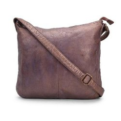 Jhanji Exports Brown Ladies Handbag, Size: Standard