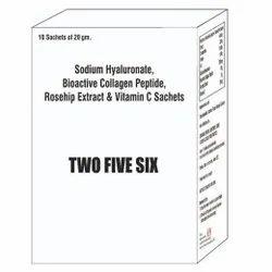 Sodium Hyaluronate Bioactive Collagen Peptide Rosehip Extract & Vit C Sachet