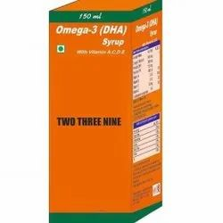 Omega 3 DHA Syrup with Vit A, C, D, E