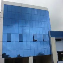 ACP With Structural Glazing Work