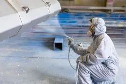 Pan India Industrial Machine Spray Painting Services