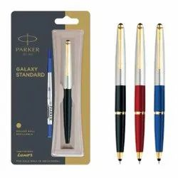 Parker Galaxy Standard Refillable Rollerball Pen With Gold Trim