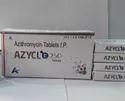 AZYCLO-250 Azithromycin 250mg Tablets IP, 60 Tablets