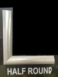 Non Lit Aluminium Profile Half Round