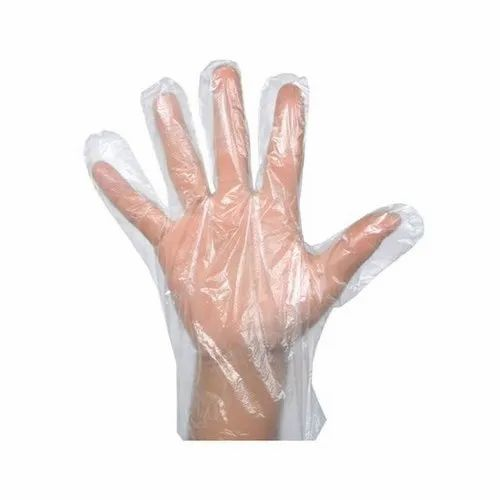 6.5inch Disposable Plastic Hand Gloves