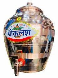 Copper Water Pot, Capacity: 5 Litre