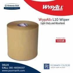 Wypall L10 Natural Utility Brown Wipes-1353
