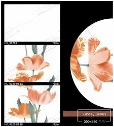 Multicolor PRM 12x18 Bathroom Wall Tiles, Size: 300X450, Thickness: 5-10 mm