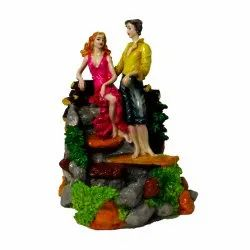 Cute Couple Indoor Water Fountain