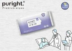 Puright Bed Bath Wipes