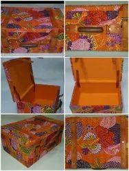 LUCKY HANDICRAFT Multicolor SUITCASE