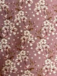 Brown Linen Printed Fabric, GSM: 100GSM