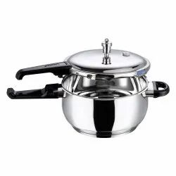 Silver Stainless Steel 3.5 Litre Vinod SS Pressure Cooker, For Home