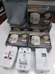 White Universal Travel Adapter
