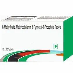 L-Methylolate, Methylcobamin & Pyridoxal-5-Phosphate Tablets