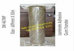 3M 467 MP Adhesive Transfer Tape 609mm X 55mtr