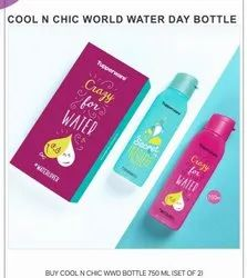 Cool N Chic World Water Day Bottle