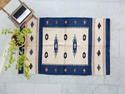 Woven Multicolor Soft Rug,Chenille And Cotton Rug,Area Rug, For Home
