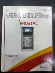 Alpostin 500 MCG Injection, Packaging: Bottle