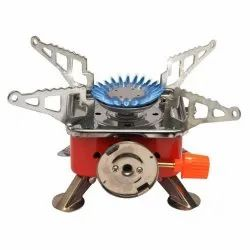 Portable Square-Shaped Gas Burner Camping Stove, Cooking Stove, Folding Stove For Picnic