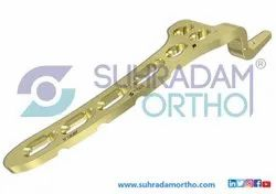 3.5mm LCP Clavical Hook Locking Plate 15mm