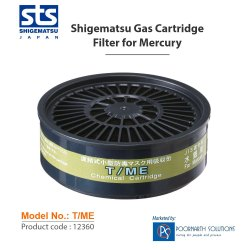 Shigematsu T/ME ( Mercury Gas ) Filter/Cartridge