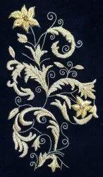 Zardozi Embroidery Job Work