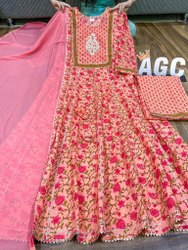 AGC Cotton Anarkali Gown
