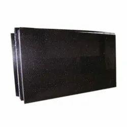 Black Galaxy Granite Slabs, For Flooring, Thickness: 12.5 mm