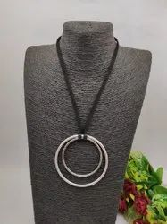 12.5inch Western German Silver Necklace, Party