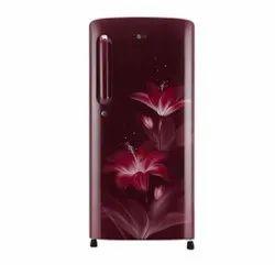 4 Star Ruby Glow GL B201 ARGY LG Refrigerator, Single Door, Capacity: 190 Litre