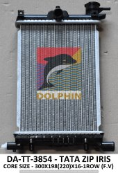 Aluminium Dolphin Tata Zip Iris Radiator