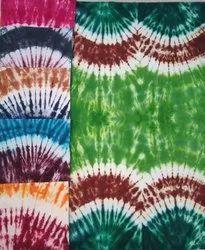 Cotton Tie Dye Nighty Fabric