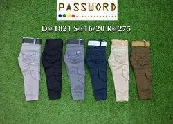 Kids Six Pocket Lycra Jeans
