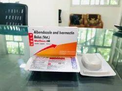 Albendazole and Ivermectin Bolus (Vet.)