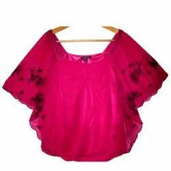 Pink Girls Rayon Top
