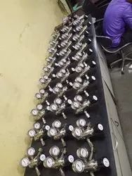 10 Psi Silvery White Gas Regulators, For Industrial