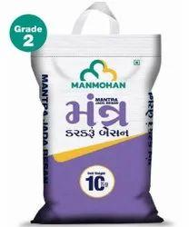Pure Chana Dal Mantra Jada Besan, 10 Kg, Packaging Type: Bopp Bag