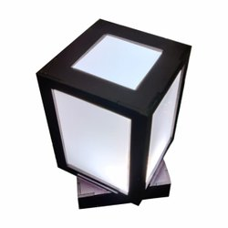 Local Wooden Rotating Lamp, For Decoration