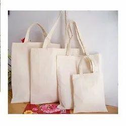 WHITE FILLY Handled Cotton Messenger Bag