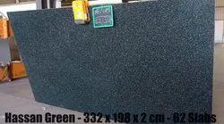 Polished Hassan green Granite