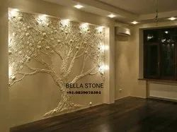 Stone Carved Wall Panel