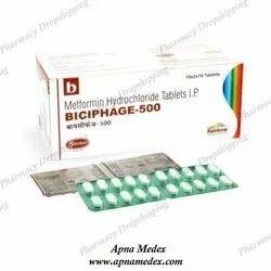 Biciphage 500 Sr Tablets