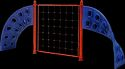 Toy Park Twisted Net Climber (MPS 505)