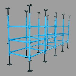 Blue Mild Steel MS Cup Lock System, For Construct Building, 48mm