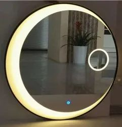 Wall Mounted Decorative Bathroom Mirror, For Home, Size: 24 X 24