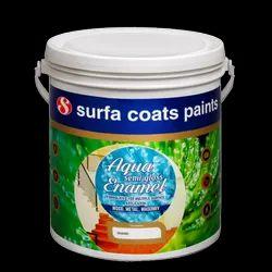 Aqua Semi Gloss Enamel Paint